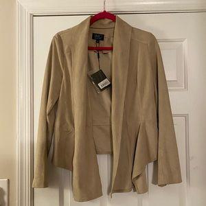 Tan suede jacket